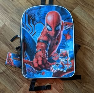 "❤NEW Spiderman Far From Home 16"" Back Pack"